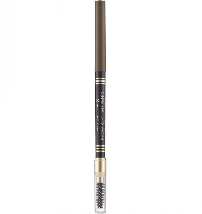 Creion pentru sprancene Max Factor Brow Slanted Pencil, 03 Dark Brown-big