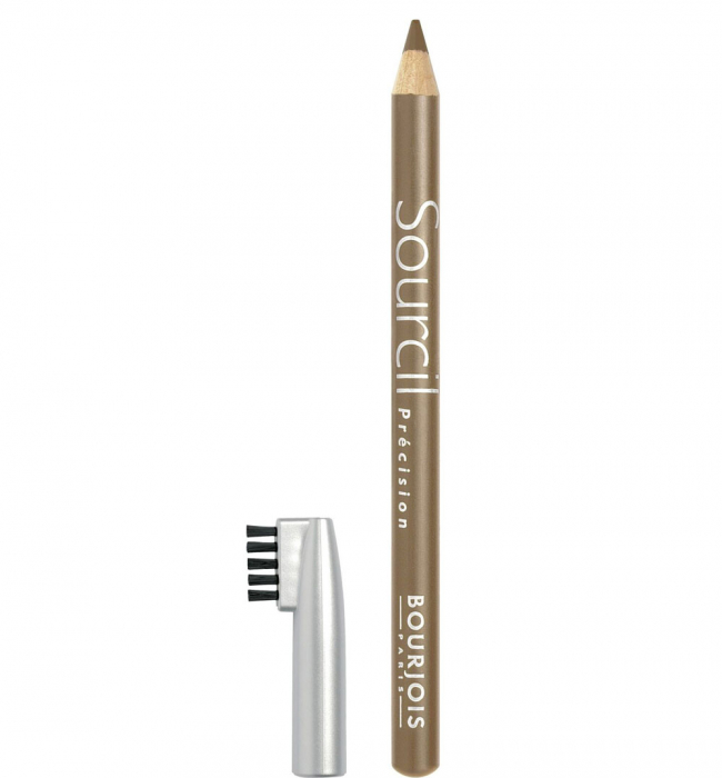Creion pentru sprancene Bourjois Paris Sourcil Precision Eyebrow Pencil, 06 Blond Clair, 1.13 g-big