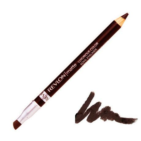 Creion de Ochi Revlon Matte Luxurious Color Kohl-002 Rich Mink (Maro inchis)-big