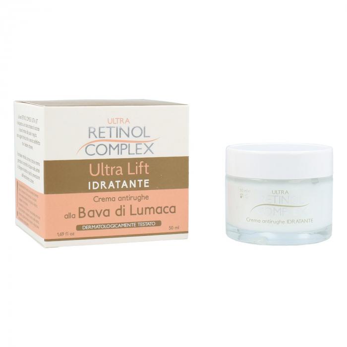 Crema hidratanta antirid cu Extract de Melc, Ultra Retinol Complex, 50 ml-big