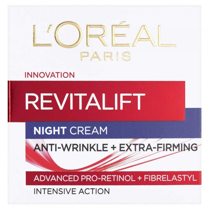Crema De Noapte Anti Rid L'oreal Revitalift Intensive Action, 50 ml-big