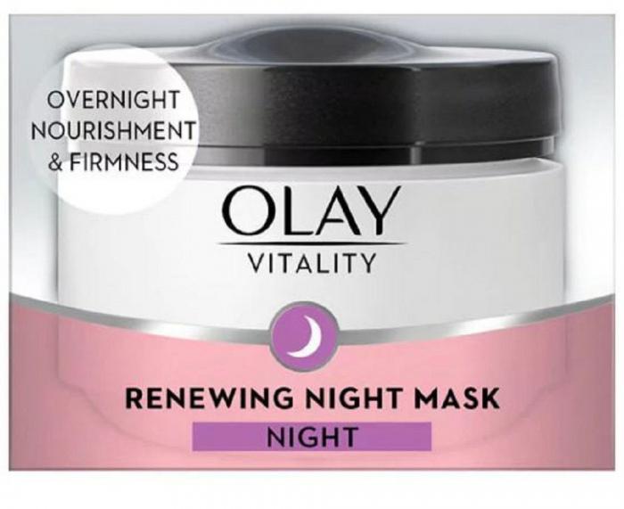 Crema De Noapte Anti-Rid OLAY Vitality Renewing Night Mask, 50 ml-big