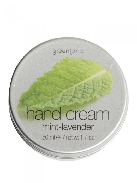 Crema de Maini Greenland cu Menta si Levantica - 50 ml-big