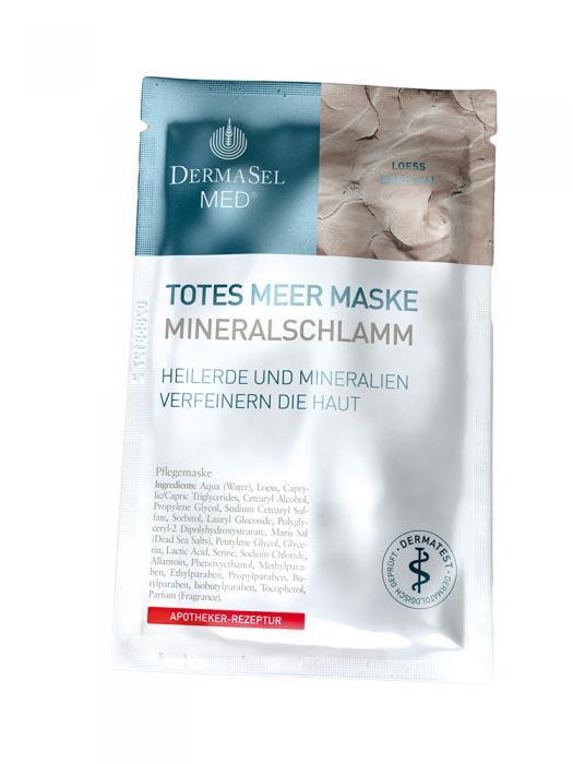Masca de Fata pe Baza de Namol Mineral DermaSel MED - 12 ml-big
