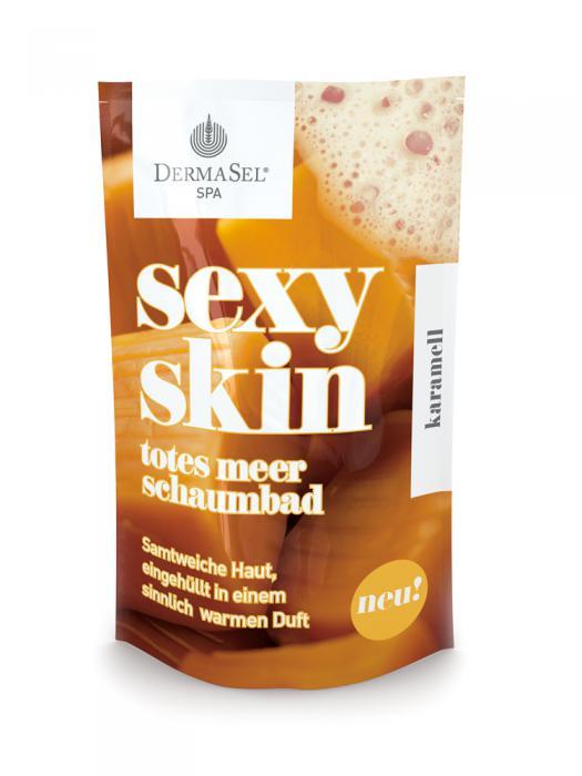 Spumant de Baie DermaSel SPA Sexy Skin cu Aroma de Caramel-45 ml-big