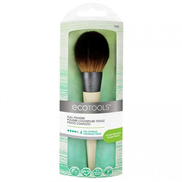Pensula Machiaj Ecotools Full Powder pentru aplicarea pudrei-big