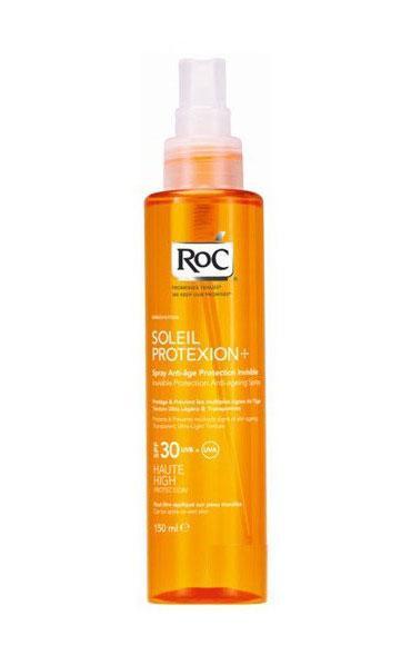 Ulei de Plaja Spray AntiRid ROC Soleil Protexion SPF30 UVB+UVA - 150ml-big