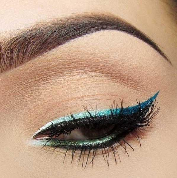 Tus De Ochi L'oreal Super Liner Ultra Precision Punky - Turquoise-big