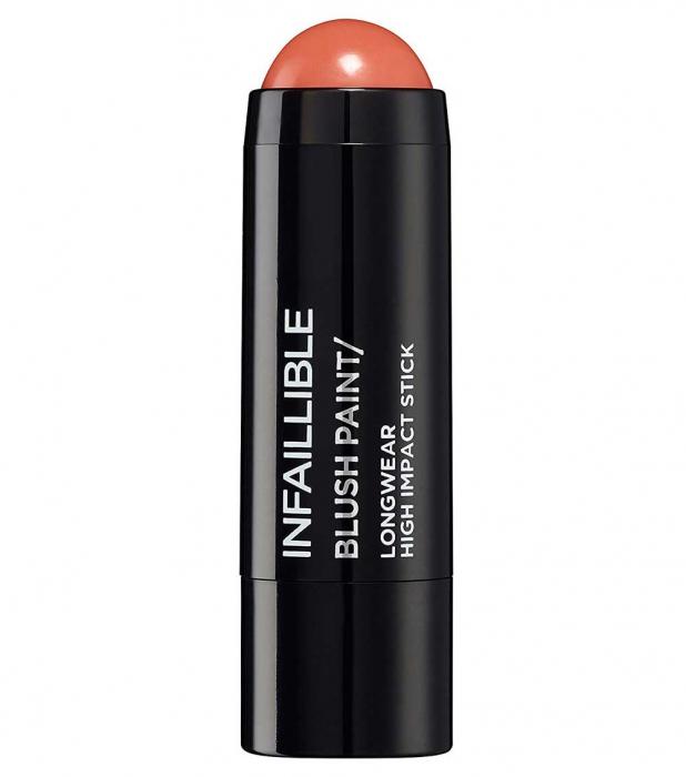 Fard de obraz stick L'Oreal Paris Infaillible Blush Paint, 02 Tangerine Please, 7 g-big
