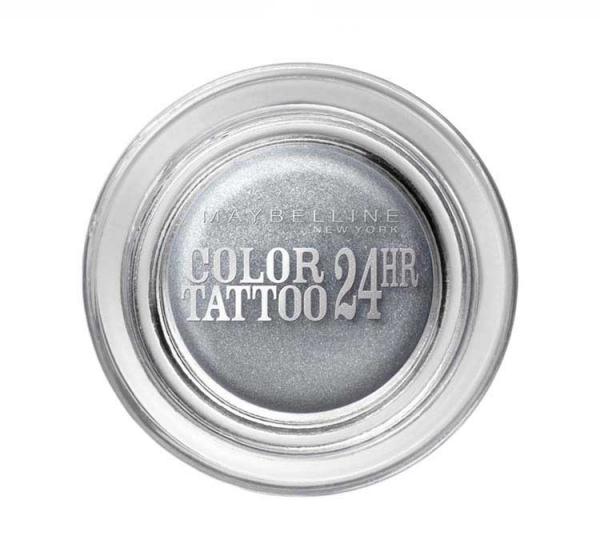 Fard De Pleoape Iluminator Maybelline Color Tattoo 24 Hr - 50 Eternal Silver-big
