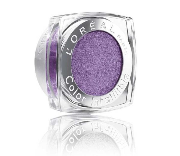 Fard de pleoape L'Oreal Color Infallible Iridescent Finish - 005 Purple Obsesion, 3.5g-big