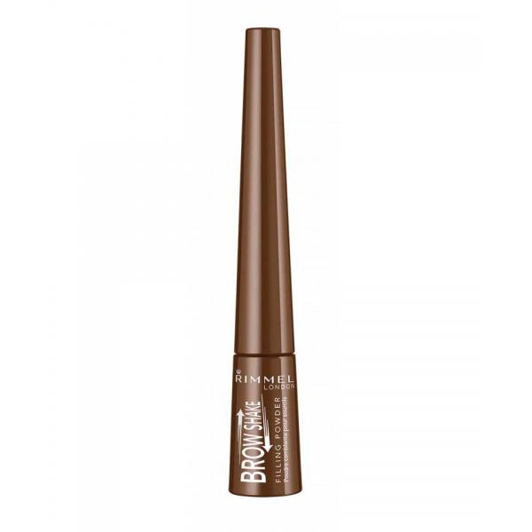 Pudra Pentru Sprancene RIMMEL BROW SHAKE 3 In 1 - 002 Medium Brown-big
