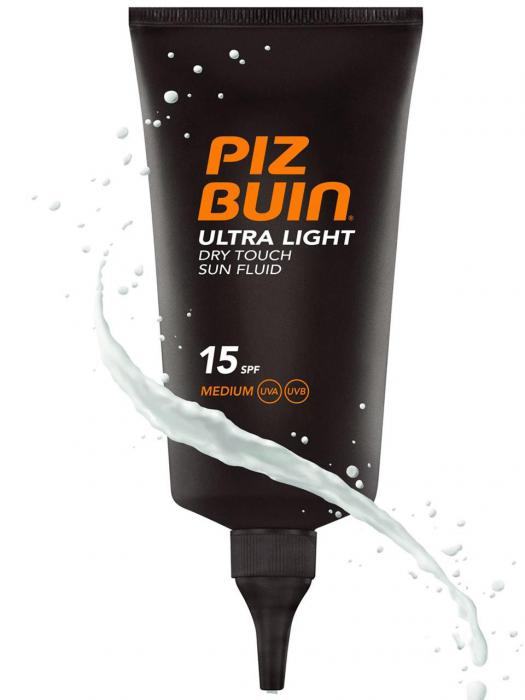 Fluid Piz Buin Ultra Light Dry Touch cu Protectie Solara SPF 15, 150 ml-big