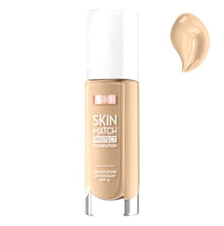 Fond De Ten ASTOR Skin Match Protect 30 ml - 103 Porcelain, 30ml-big