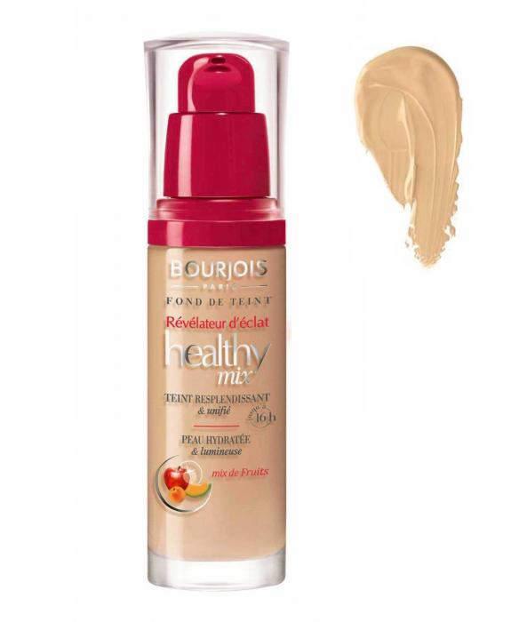 Fond de ten BOURJOIS Healthy Mix - 55 Dark Beige, 30ml-big