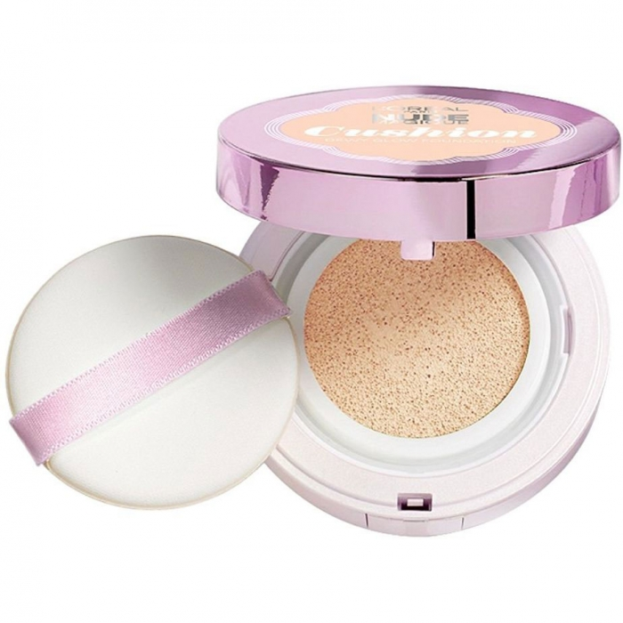 Fond De Ten Iluminator L'OREAL NUDE MAGIQUE CUSHION - 3 Vanilla, 14.6 gr-big