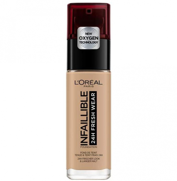 Fond de ten L'Oreal Paris Infaillible 24H Fresh Wear, 230 Radiant Honey, 30 ml-big
