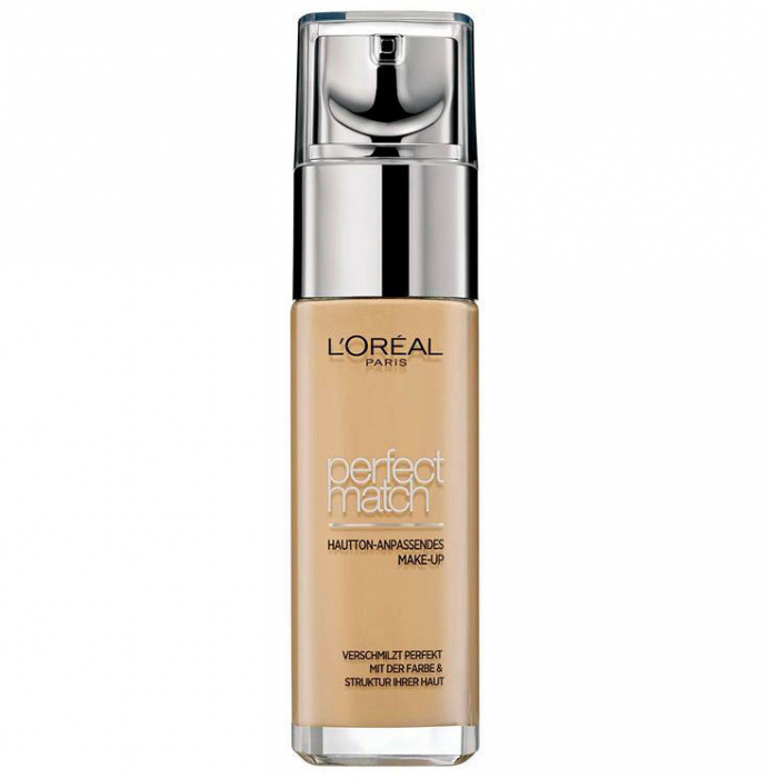 Fond De Ten L'Oreal Paris Perfect Match - 5.D/5.W Golden Sand, 30 ml-big