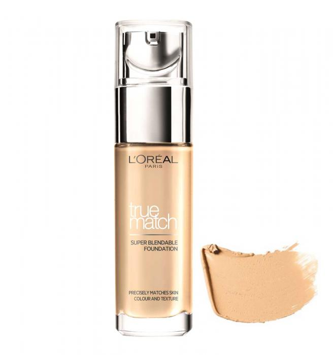 Fond De Ten L'oreal True Match Super Blendable - 5.D / 5.W Golden Sand, 30 ml-big