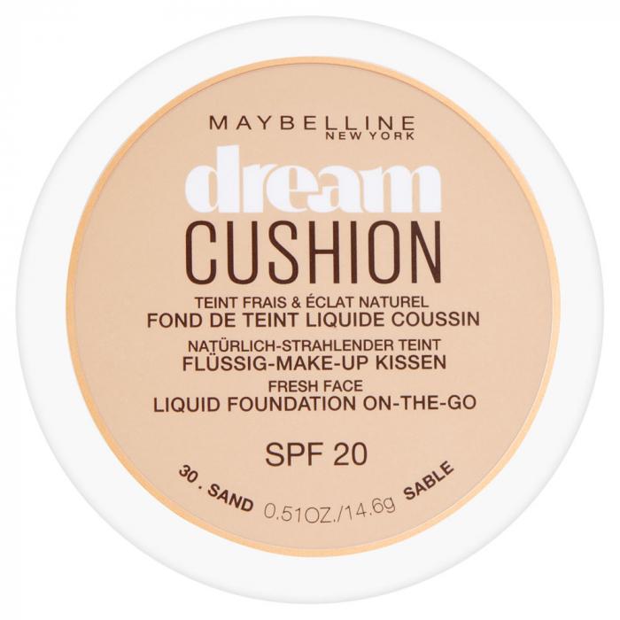 Fond de ten Maybelline Dream Cushion Liquid Foundation, 30 Sand, 14.6 g-big