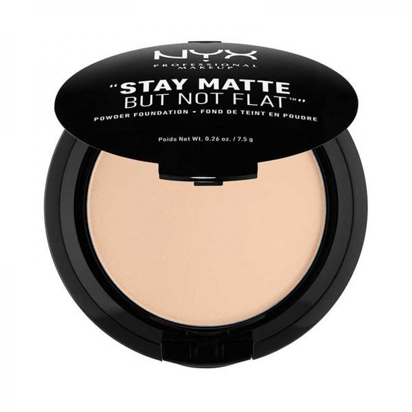 Fond De Ten Pudra Nyx Professional Makeup Stay Matte But Not Flat - Nude Beige, 7.5 gr-big