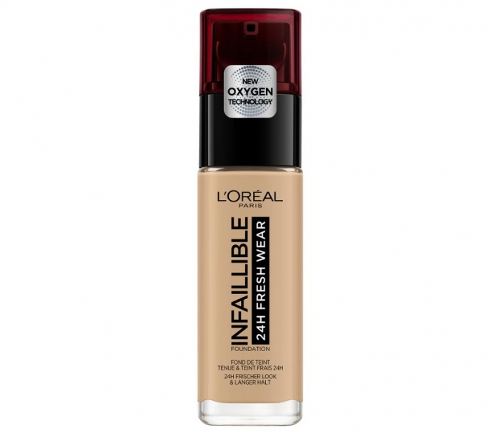 Fond de ten L'Oreal Paris Infaillible 24H Fresh Wear, 140 Golden Beige, 30 ml-big