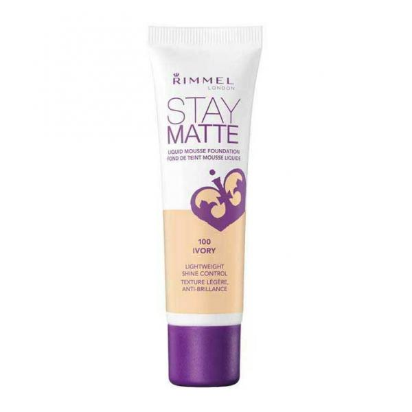 Fond De Ten Rimmel Stay Matte Liquid Mousse - 100 Ivory, 30 ml-big