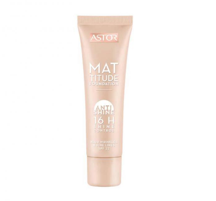 Fond De Ten Astor Mattitude Anti Shine 16 Hr-203 Peachy-big