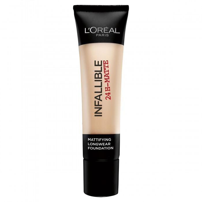 Fond De Ten Matifiant L'oreal Infallible 24 Hr Matte-22 Radiant Beige-big
