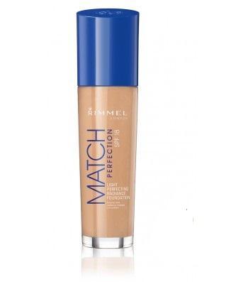 Fond de Ten Rimmel Match Perfection - 102 Light Nude, 30 ml-big