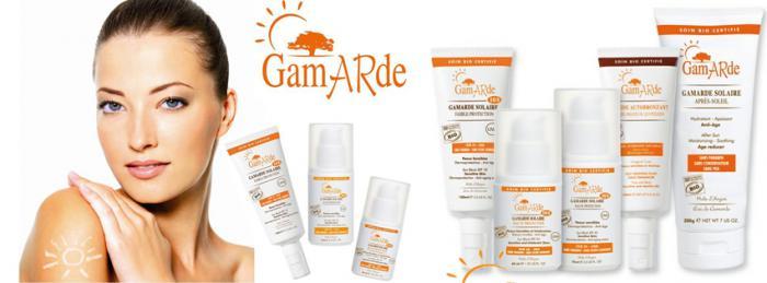 Crema BIO cu Protectie Solara SPF 30 GamARde Solaire - 75 ml-big