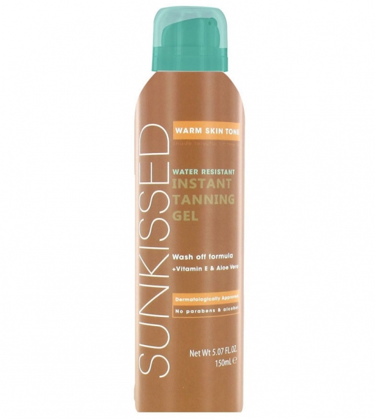 Gel Autobronzant Sunkissed Instant Tanning Gel Warm Skin Tone, 150 ml-big