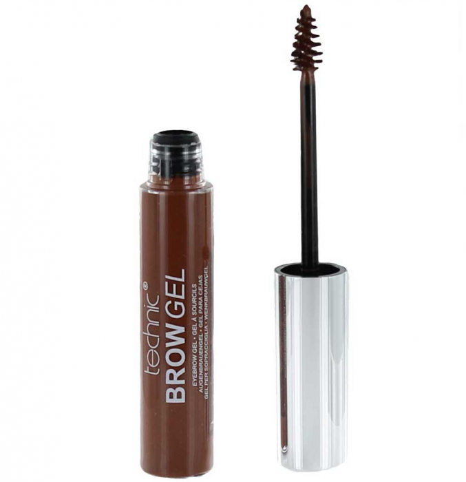 Gel Pentru Conturarea Sprancenelor Technic Brow Gel, Dark, 10 ml-big