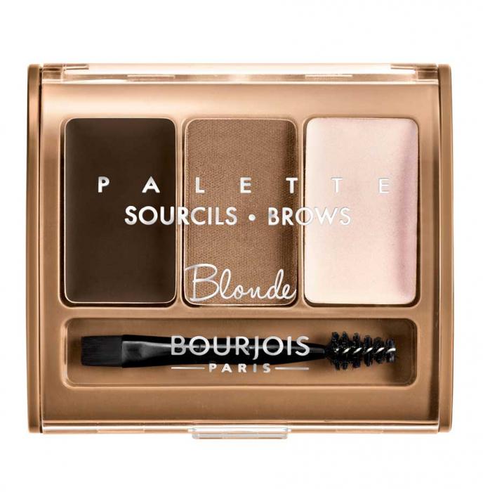 Paleta pentru definirea sprancenelor BOURJOIS Paris Brow Palette, Blonde, 4.5 g-big