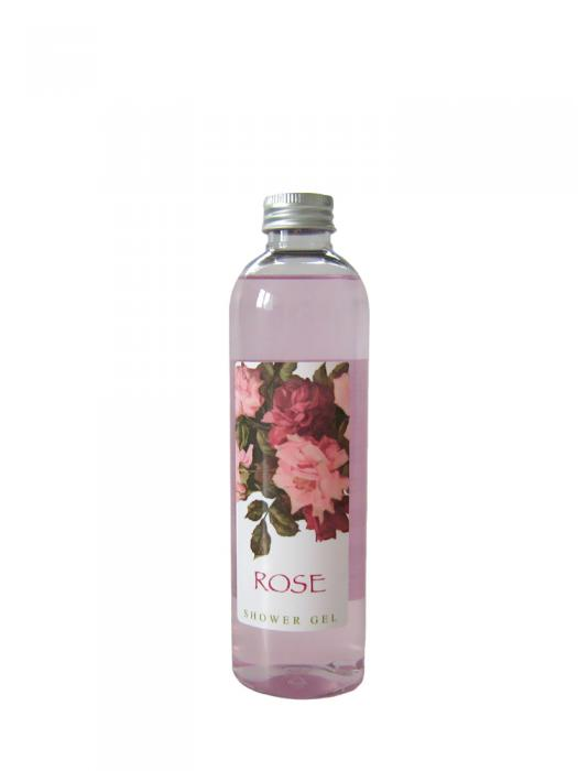 Gel de Dus VILLAGE COSMETICS cu Extract de Trandafiri - 250 ml-big