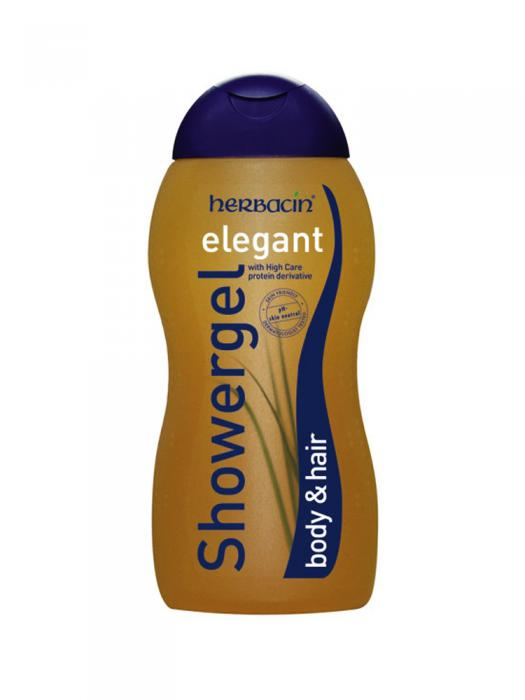 Gel De Dus Si Sampon Herbacin Elegant - 300 ml-big