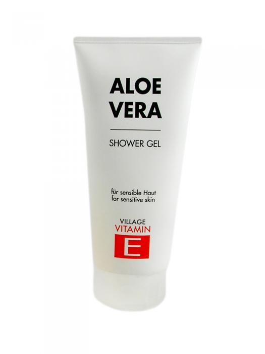 Gel De Dus VILLAGE COSMETICS Cu Vitamina E Si Aloe Vera-200 ml-big