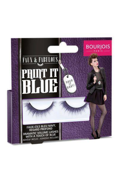 Gene False Cu Adeziv Inclus Bourjois Paint It Blue-big