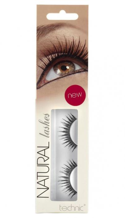Gene False cu Aspect Natural TECHNIC Natural Lashes, adeziv inclus A36-big