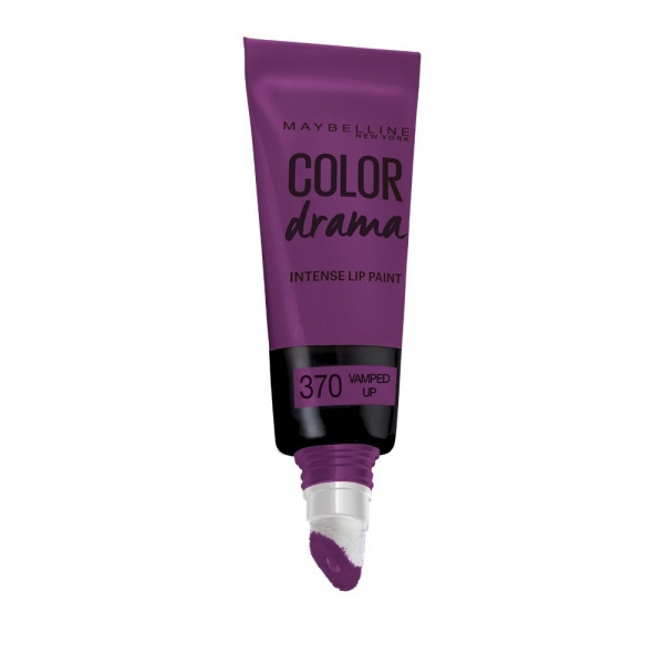 Gloss Maybelline Color Drama Intense Lip Paint - 370 Vamped Up, 6.4 ml-big