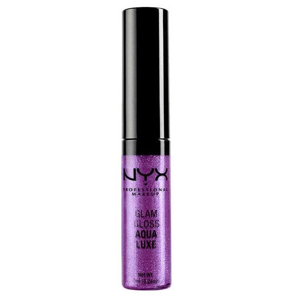 Gloss  Nyx Professional Makeup Glam Aqua Luxe - Tuesday Night Disco, 7 ml-big