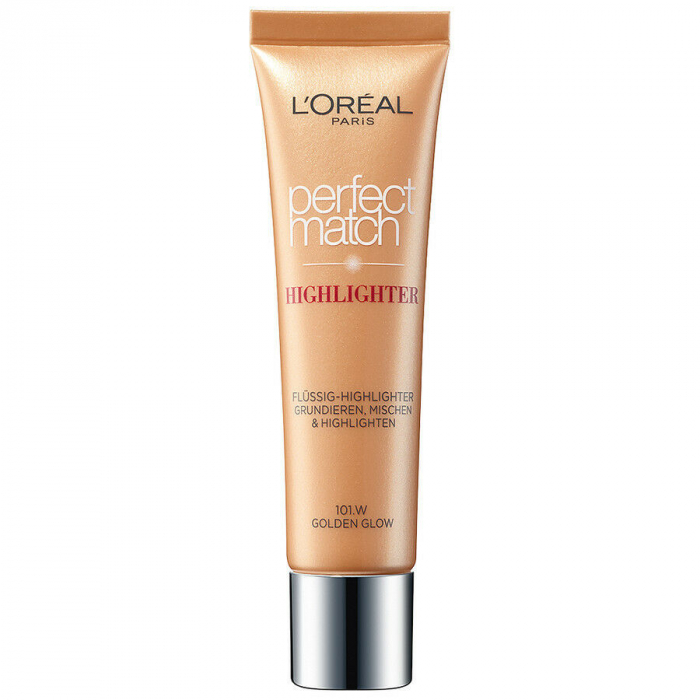 Iluminator L'Oreal Perfect Match Highlight Liquid Golden Glow, 30 ml-big