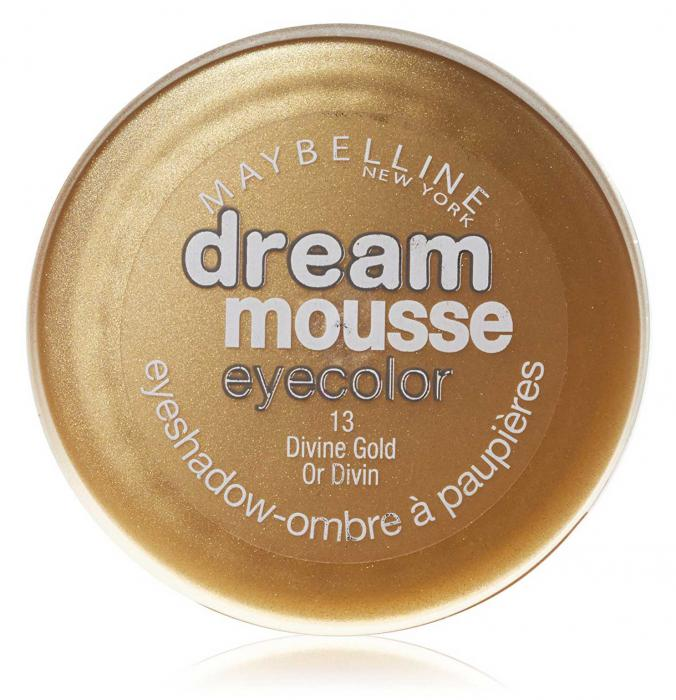 Iluminator Auriu Spuma Maybelline Dream Mousse - 13 Divine Gold-big