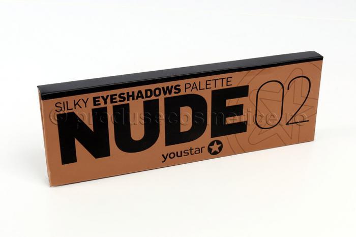 Paleta Profesionala Cu 12 Farduri YouStar Nude - 02 Perfect Nude-big