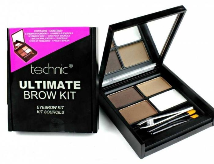 Kit Complet Pentru Sprancene Technic Ultimate Brow Kit-big
