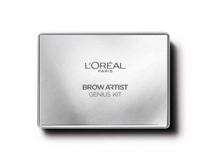 Kit Complet pentru Sprancene L'Oreal Paris Brow Artist Genius Kit, 01 Light To Medium, 3.5 g-big