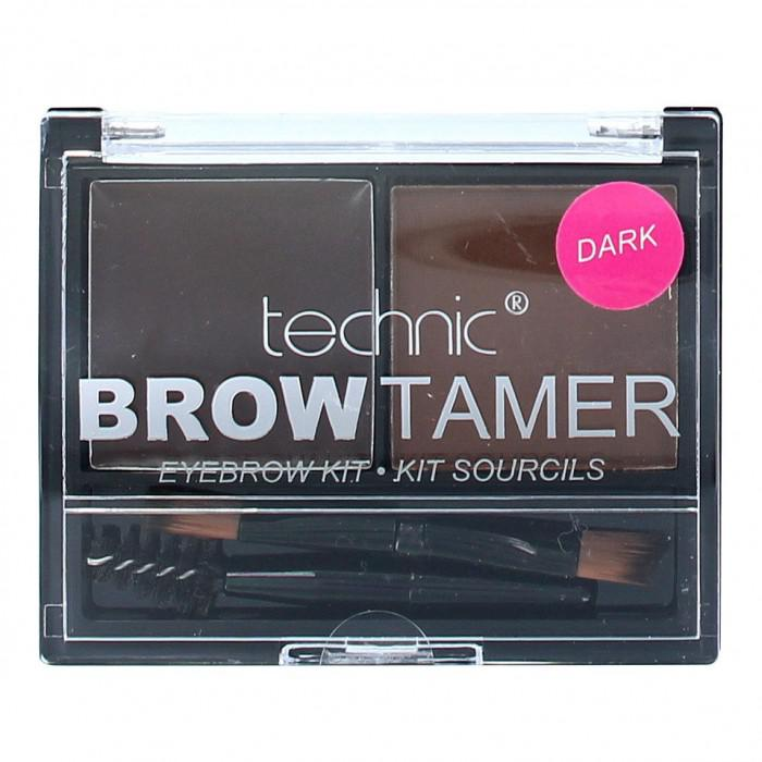 Kit Pentru Sprancene Cu 2 Nuante Technic Brow Tamer - Dark-big