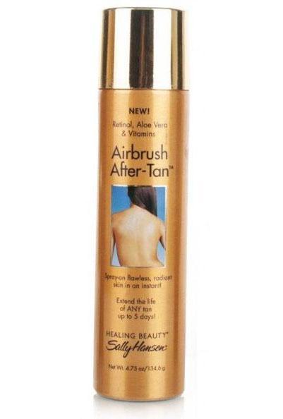 Spray autobronzant Sally Hansen Airbrush After-Tan pentru intensificarea bronzului-big