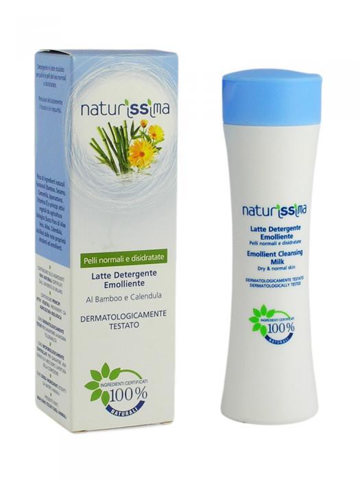 Lapte Demachiant Emolient Naturissima - 200 ml-big