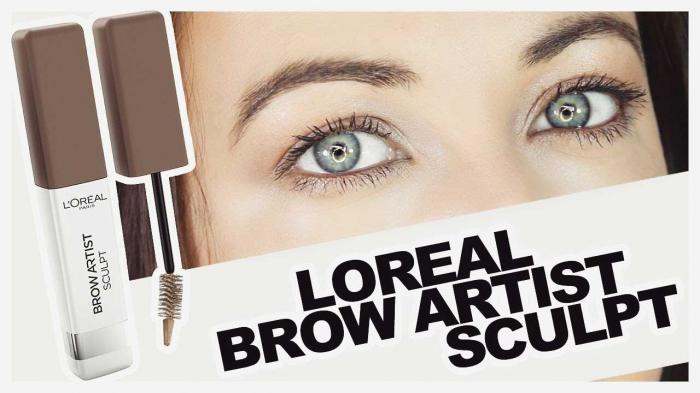 Gel Pt Conturarea Sprancenelor L'oreal Brow Artist Sculpt-02 Brunette-big